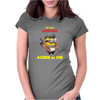Despicable Me Minion Awesome Agree Or Die Womens Fitted T-Shirt