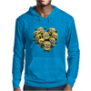 Despicable Me Minion Heart Mens Hoodie