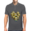 Despicable Me Minion Heart Mens Polo