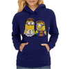 Despicable Me Minion Messi Ronaldo Womens Hoodie