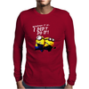 Despicable Me Minions I Didn't Do It Stuart Dave Mens Long Sleeve T-Shirt