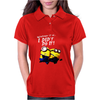 Despicable Me Minions I Didn't Do It Stuart Dave Womens Polo
