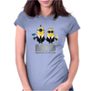Despicable me Minions Men In Black Womens Fitted T-Shirt