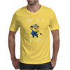 Despicable Me One In A Minion Striped Juniors Mens T-Shirt