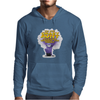Despicable Me purple Minion Crazy Aunt funny Mens Hoodie