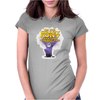 Despicable Me purple Minion Crazy Aunt funny Womens Fitted T-Shirt