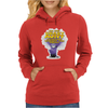 Despicable Me purple Minion Crazy Aunt funny Womens Hoodie