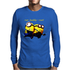 Despicable Me Run Buddy Run Minion Cool Mens Long Sleeve T-Shirt