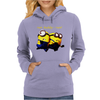 Despicable Me Run Buddy Run Minion Cool Womens Hoodie