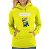 Despicable Me Whaaa Minion Womens Hoodie