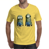 Despicable Me Zombie The Walking Dead Minions Movie Mens T-Shirt