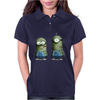 Despicable Me Zombie The Walking Dead Minions Movie Womens Polo
