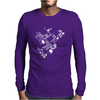 Detailed Circuit Mens Long Sleeve T-Shirt