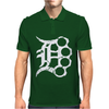 Detroit D Brass Mens Polo