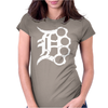 Detroit D Brass Womens Fitted T-Shirt