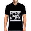 Detroit Techno Militia Mens Polo