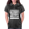Detroit Techno Militia Womens Polo