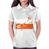 Devil Burying Dinosaur Bones Womens Polo