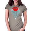DEVIL IN ME Owl Womens Fitted T-Shirt