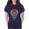 DEVIL IN ME Owl Womens Polo