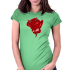 Devilman Womens Fitted T-Shirt