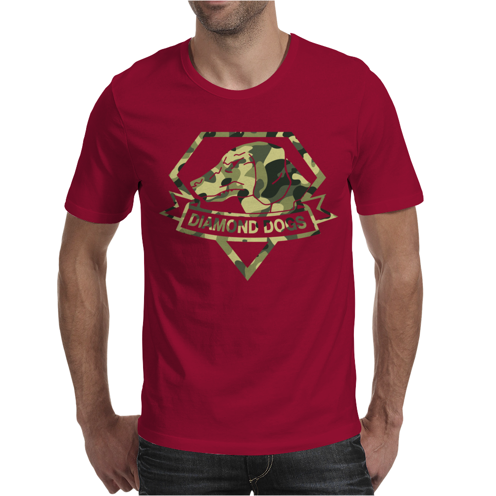 Diamond Dogs camouflage Mens T-Shirt