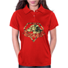Diamond Dogs camouflage Womens Polo
