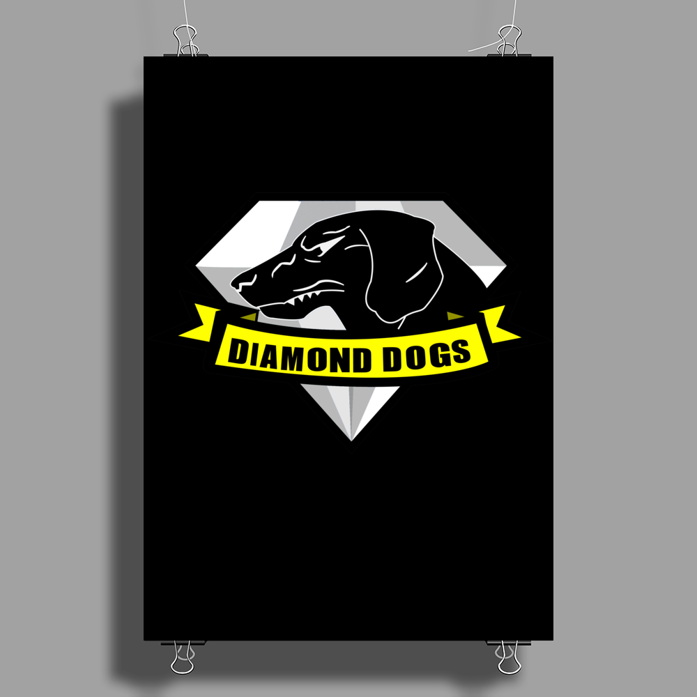 Diamond Dogs Poster Print (Portrait)