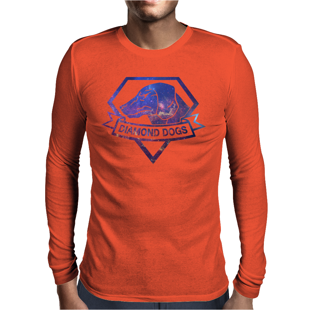 Diamond Dogs universe Mens Long Sleeve T-Shirt