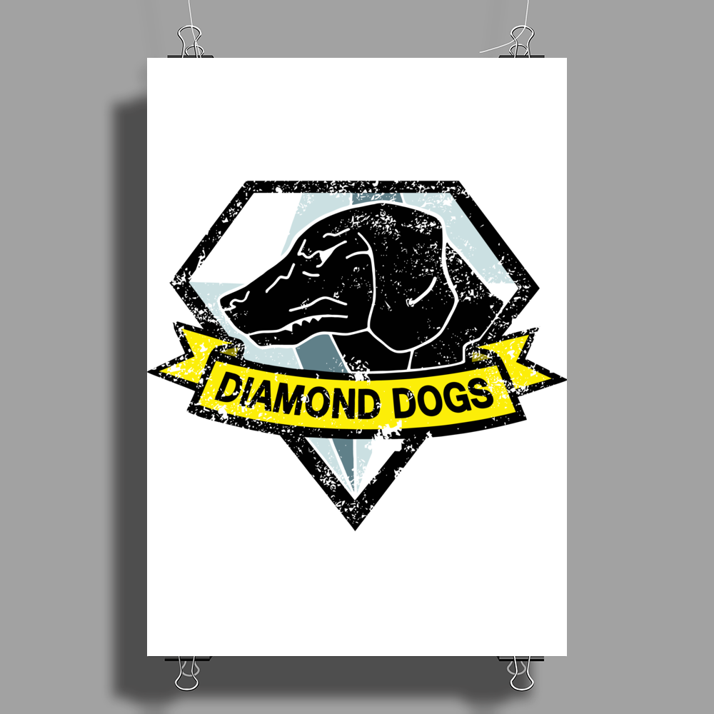 Diamond Dogs v2 Poster Print (Portrait)