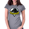 Diamond Dogs v2 Womens Fitted T-Shirt