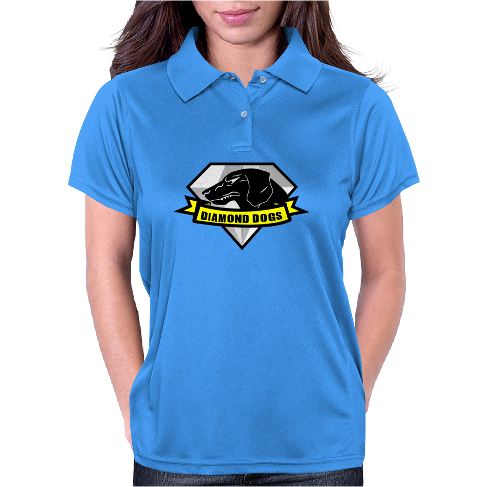 Diamond Dogs Womens Polo