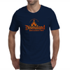 Diamond Fire Font Mens T-Shirt