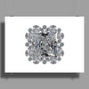 Diamond Gift Brooch Poster Print (Landscape)