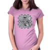 Diamond Gift Brooch Womens Fitted T-Shirt