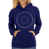 Diamond in a Circle Womens Hoodie
