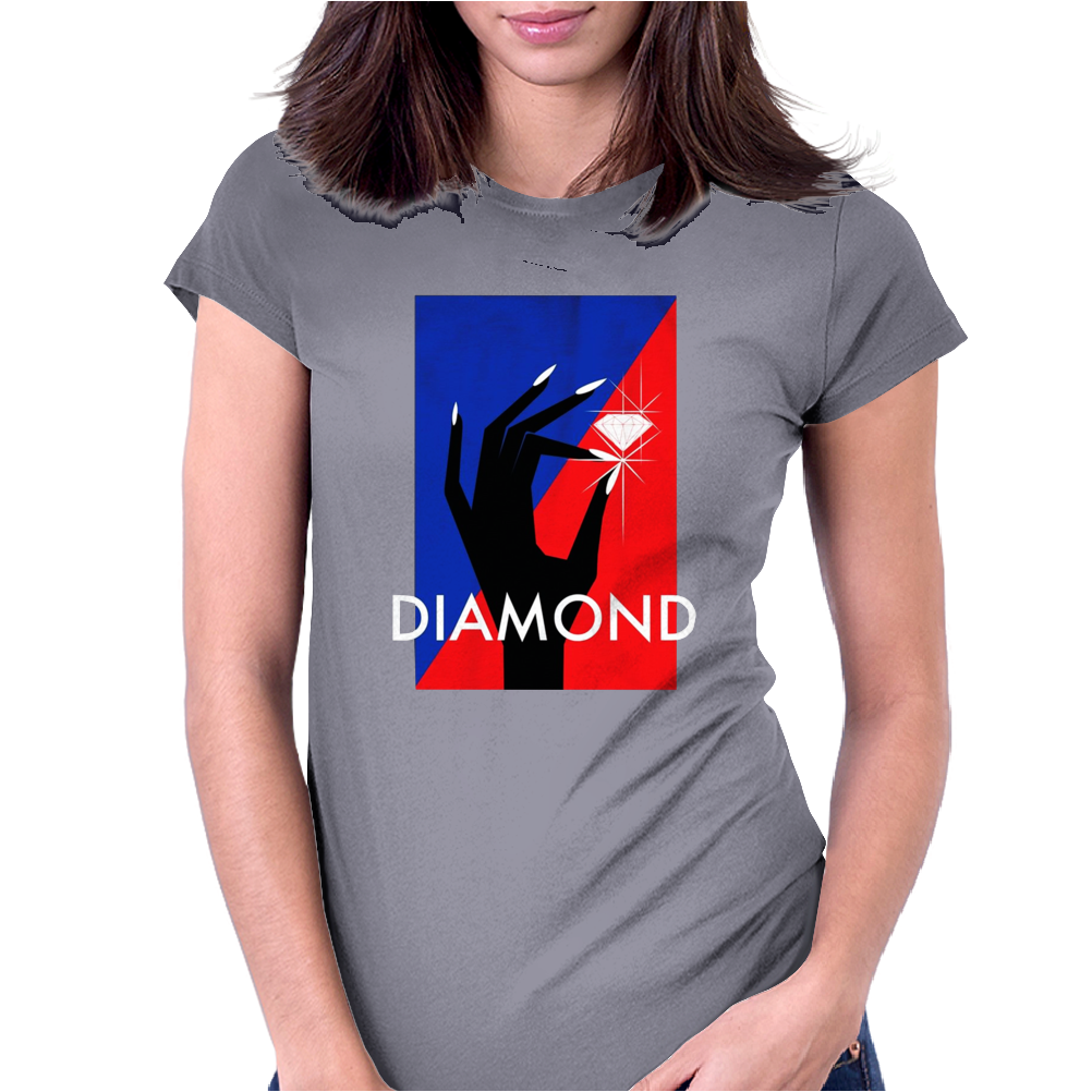 Diamond Supply Co Womens Fitted T-Shirt