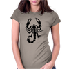 Dibujos alacranes Womens Fitted T-Shirt