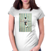 Diego Maradona Vintage Poster Womens Fitted T-Shirt