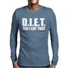 Diet  Funny Mens Long Sleeve T-Shirt