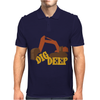 Dig Deep Gold Rush Mens Polo