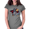 Digimon Adventure Omegamon Womens Fitted T-Shirt