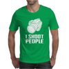 Digital Camera I Shoot People Mens T-Shirt