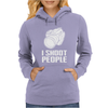 Digital Camera I Shoot People Womens Hoodie
