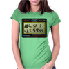 Digital Watch 80s Womens Fitted T-Shirt