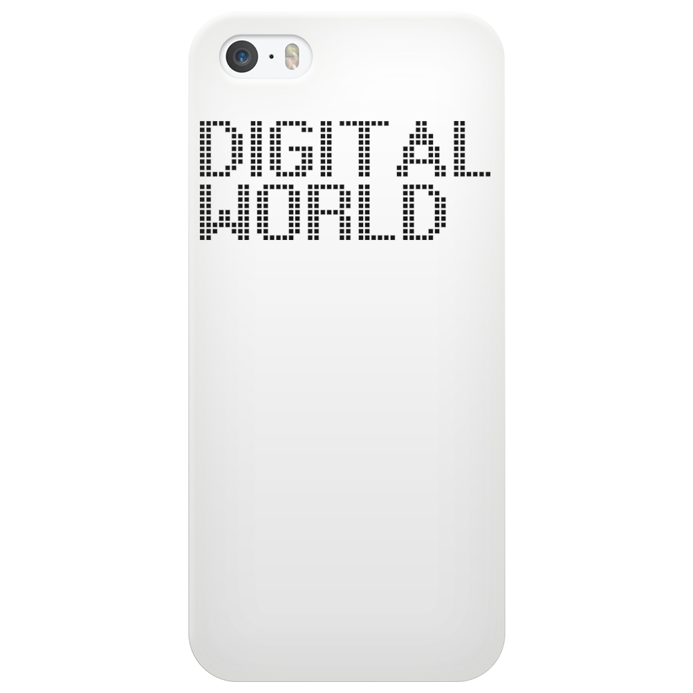 Digital World Phone Case
