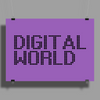 Digital World Poster Print (Landscape)