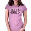 Digital World Womens Fitted T-Shirt