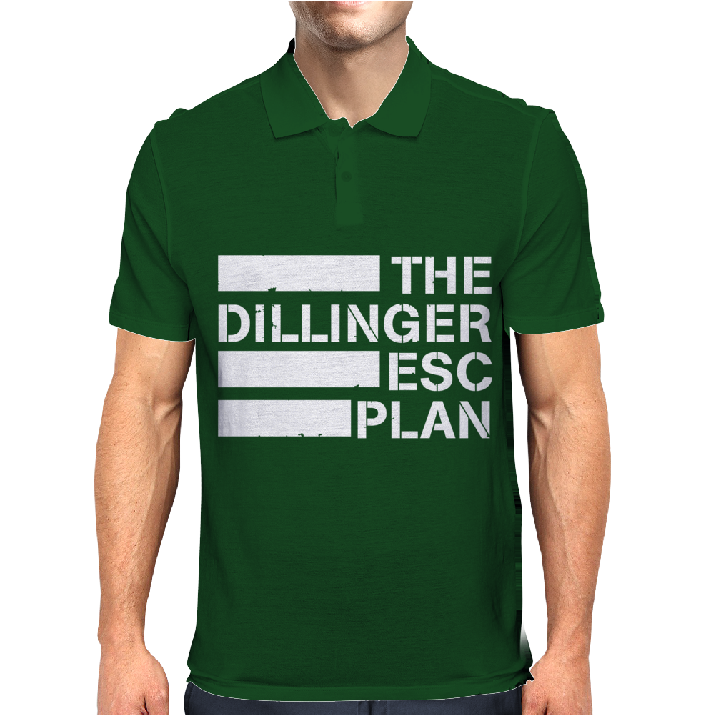 DILLINGER ESCAPE PLAN new Mens Polo