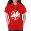 Dino Pentagram Womens Polo